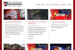 Screenshot Feuerwehr Rheinhausen