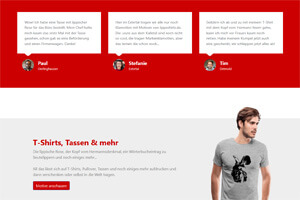 Screenshot lippeshirts.de