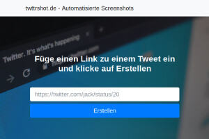 Screenshot twttrshot.de